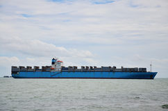 Logistic Ship Royalty Free Stock Photos