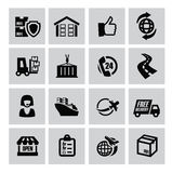 Logistic and shipping icon Royalty Free Stock Images
