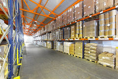 Logistic storage Royalty Free Stock Photography