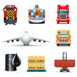 Logistic and transportation icons | Bella series Royalty Free Stock Photo