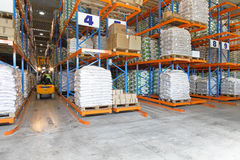 Logistic warehouse Royalty Free Stock Photography