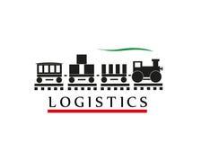 Logistica del segno Fotografie Stock
