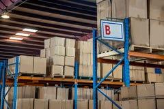 Logistica di Minsheng, magazzino dei ricambi auto del ramo di Chongqing, Hebei Fotografie Stock Libere da Diritti