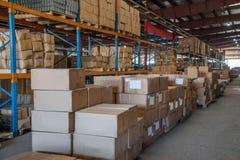 Logistica di Minsheng, magazzino dei ricambi auto del ramo di Chongqing, Hebei Fotografia Stock Libera da Diritti