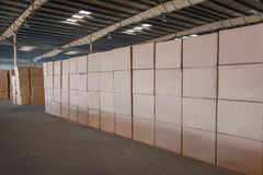 Logistica di Minsheng, magazzino dei ricambi auto del ramo di Chongqing, Hebei Immagini Stock Libere da Diritti