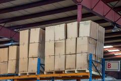 Logistica di Minsheng, magazzino dei ricambi auto del ramo di Chongqing, Hebei Fotografie Stock
