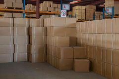 Logistica di Minsheng, magazzino dei ricambi auto del ramo di Chongqing, Hebei Immagine Stock Libera da Diritti