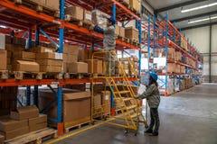 Logistica di Minsheng, magazzino dei ricambi auto del ramo di Chongqing, Hebei Immagini Stock