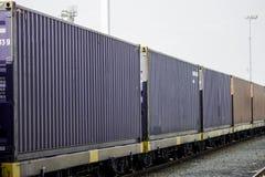 Logistica e trasporto della nave del trasporto del carico Fotografia Stock