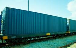 Logistica e trasporto della nave del trasporto del carico Fotografie Stock Libere da Diritti