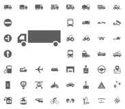 Logisticks ikona Transport i logistyki ustawiamy ikony Transport ustalone ikony Obraz Royalty Free