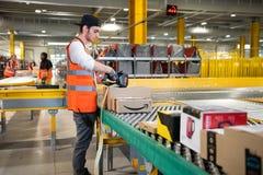Vélizy, FRANCE Sept. 23th 2019 :  Logistics activity on Amazon site