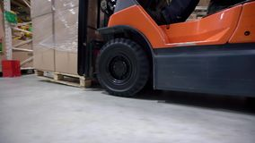 Logistics business and shipping facility with stock footage