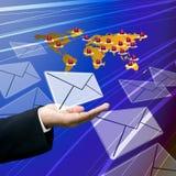 Logistics business to around the world. Logistics business with teamwork to around the world Royalty Free Stock Image