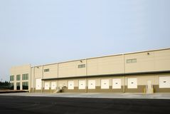 Logistics Center. An Expansive new Logistics and Warehouse Center royalty free stock image