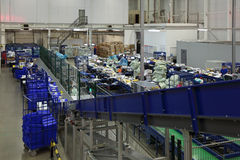 Logistics center Royalty Free Stock Photo