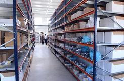 Logistics center in Sofia, Bulgaria on 17 sept. 2015 Stock Photography