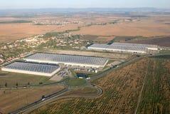 Logistics center in southern Slovakia stock photos