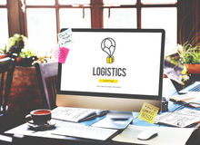 Logistics Delivery Freight Shipping Storage Service Concept Royalty Free Stock Photography
