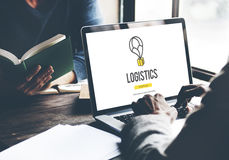 Logistics Delivery Freight Shipping Storage Service Concept Stock Image
