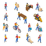 Logistics And Delivery Icons Set Royalty Free Stock Photos