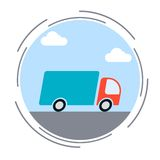 Logistics, delivery, transportation concept Stock Photography