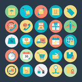Logistics Delivery Vector Icons 1 Stock Photography