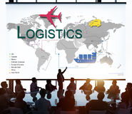 Logistics Freight Management Storage Supply Concept Stock Image