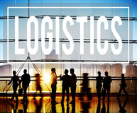 Logistics Freight Transportation Shipping Business Concept Stock Photo
