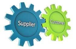 Logistics mechanism Stock Image