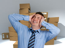 Logistics nightmare Royalty Free Stock Photo
