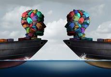 Logistics Partnership Industry Concept Stock Photography