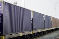 Logistics and transportation of cargo freight ship Stock Photography