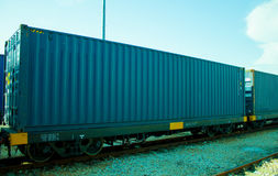 Logistics and transportation of cargo freight ship Royalty Free Stock Photos