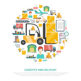 Logistics And Transportation Concept Royalty Free Stock Photo