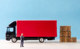 Logistics and transportation concepts royalty free stock photos