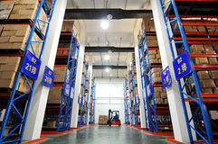 Logistics and warehousing Royalty Free Stock Image