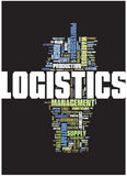 Logistics word cloud Stock Photos