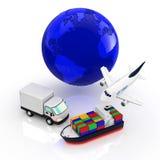 Logistiek Stock Afbeelding