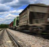 Logistiek die - een lading bewegen Royalty-vrije Stock Foto's