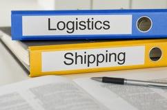 Logistiek en het Verschepen Stock Afbeeldingen