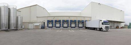 Logistiekcentrum stock foto's