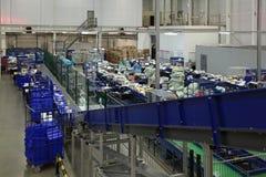 Logistiekcentrum Royalty-vrije Stock Foto