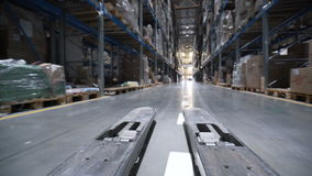 Logistiekzaken en verschepende faciliteit stock video