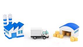 Logistik Stockfoto
