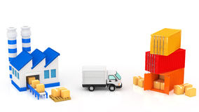 Logistik Lizenzfreie Stockfotografie