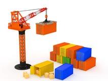 logistik Stockbild