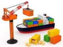 logistik Lizenzfreies Stockfoto