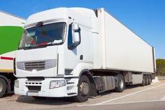 Logistik - LKW lizenzfreie stockfotos