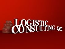 Logistik u. Beratung Lizenzfreies Stockfoto